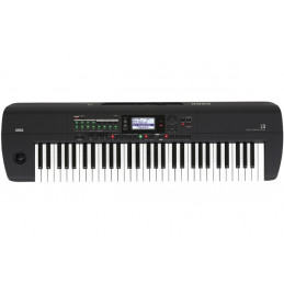 KORG  I3 MUSIC WORKSTATION 61 TASTI, USB, MIDI, MATTE BLACK