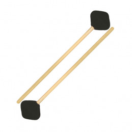 SABIAN 61125 GENERAL SUSPENDED CYMBAL MALLETS WITH RATTAN HANDLES