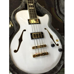 D'ANGELICO EX-BASS WHITE