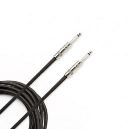 PLANET WAVES PW-BG-20 BRAIDED INSTRUMENT CABLE 6M BLACK
