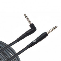 PLANET WAVES CGTRA-20 CLASSIC SERIES INSTRUMENT CABLE RIGHT ANGLE PLUG 6 M