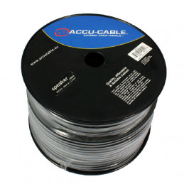 ACCU-CABLE AC-SC2-2,5 / 100R-B SPEAKER CABLE 2X2,5MM