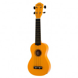 BATON ROUGE NU1S-OR UKULELE SOPRANO NOIR ORANGE