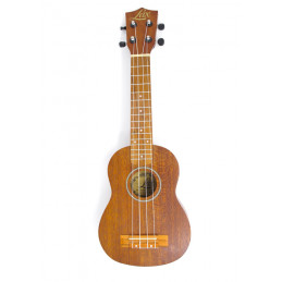 LAX UK21NS UKULELE SOPRANO NATURAL SATIN