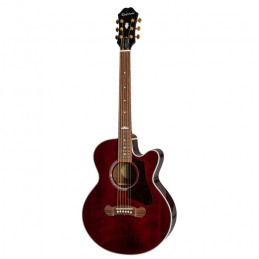 EPIPHONE EJ200 COUPE - WINE RED