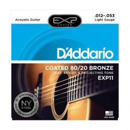 D'ADDARIO EXP11 COATED 80-20 BRONZE LIGHT 12-53