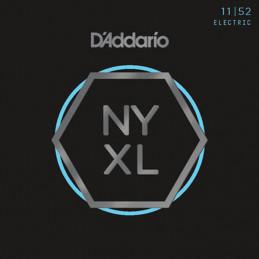D'ADDARIO NYXL1152 NICKEL WOUND ELECTRIC GUITAR STRINGS MEDIUM TOP HEAVY BOTTOM 11-52