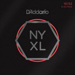 D'ADDARIO NYXL1052 NICKEL WOUND ELECTRIC GUITAR STRINGS LIGHT TOP HEAVY BOTTOM 10-52