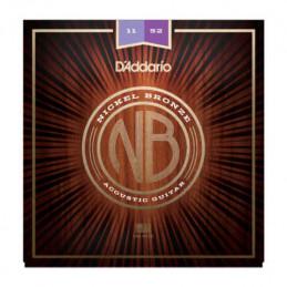 D'ADDARIO NB1152 NICKEL BRONZE SET CUSTOM LIGHT