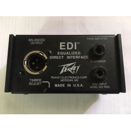 PEAVEY EDI EQUALIZED DIRECT INTERFACE