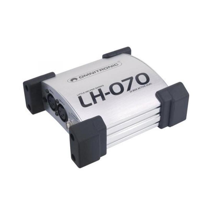 OMNITRONIC LH070 ACTIVE DUAL DI BOX