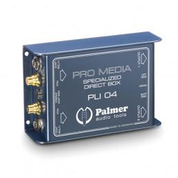 PALMER PRO PLI04 DI-BOX PASSIVO A 2 CANALI PER PC E LAPTOP