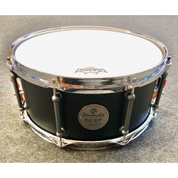"DRUM ART 1465FBS RULLANTE FAT BOY 14"" X 6,5"" NERO OPACO"