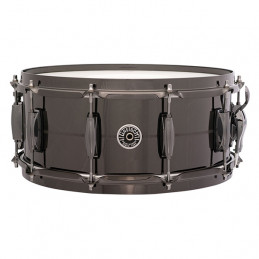 "GRETSCH GB4166 BROOKLYN RULLANTE 14X6.5"" NICKEL BLACK"