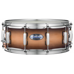 """PEARL MASTERS MAPLE COMPLETE SNARE 14X6,5"""" - SATIN NATURAL BURST"""