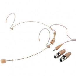 IMG HSE-152A/SK MICROFONO HEADSET CARDIODE BEIGE CON ADATTATORI