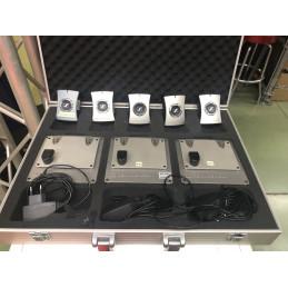 SENNHEISER DW800 SISTEMA INTERCOOM,1MASTER+4SLAVE+4 BASI