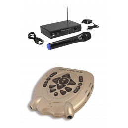 M-LIVE KIT KARAOKE CON OKYFLY3/PLUS E RADIOMIC VHF101