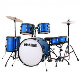 "MAXTONE MXC-3012 BATTERIA ACUSTICA CASSA 18"" BLUE"
