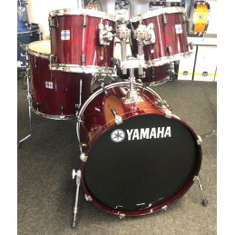 YAMAHA SCN2-F5/CR STAGE CUSTOM DRUMKIT CRANBERRY RED