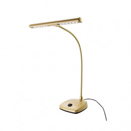 KONIG & MEYER 12297 LED PIANO LAMP GOLD-COLORED