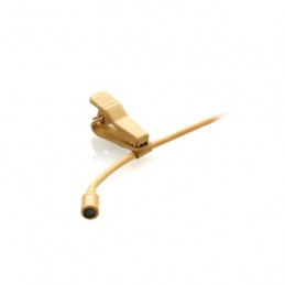 JTS CM-201IF OMNI-DIRECTIONAL MICROPHONE LAVALIER BEIGE