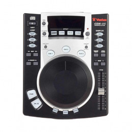 VESTAX CDX05 BLACK CD/MP3 SCRATCH PLAYER