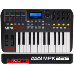 AKAI MPK-225 TASTIERA CONTROLLER MIDI/USB 25 TASTI