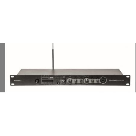 OMNITRONIC EP220P MIXER RACK CON LETTORE MP3 PLAYER E BLUETOOTH