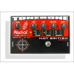 RADIAL TONEBONE HOT BRITISH TUBE DISTORTION