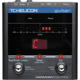 TC-HELICON HARMONY CONTROL GUITAR PEDAL