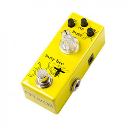 MOVALL BUSY BEE YELLOW PREAMPLIFICATORE MINI PEDAL