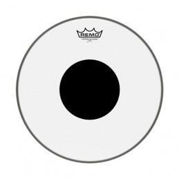 REMO CS-1320-10 CONTROLLED SOUND® BASS 20 CLEAR BLACK DOT