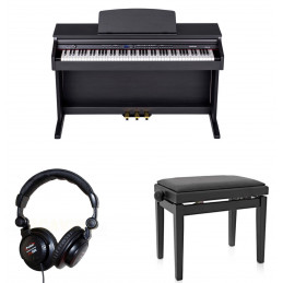 ORLA CDP101BK DIGITAL PIANO PALISSANDRO CON PANCHINA E CUFFIA