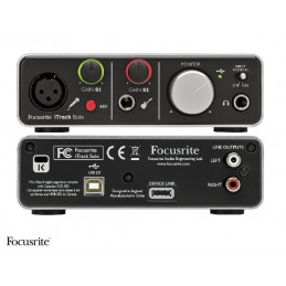 FOCUSRITE  ITRACK SOLO LIGHTNING INTERFACCIA AUDIO USB