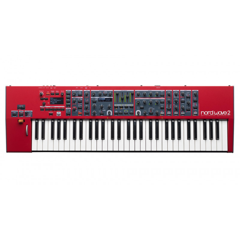 NORD  NORD WAVE 2 SYNTHESIZER, SAMPLE, FM, 61NOTE,