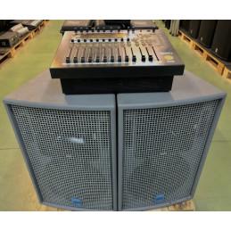 DP1000 MIXER CON N°2 DIFF KME QS-1122/PU ( EX DEMO )