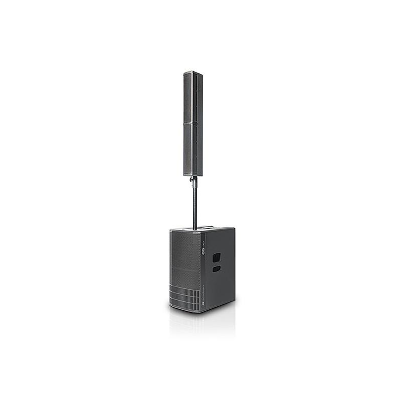 DB TECHNOLOGIES ES1002 BI-AMPED ACTIVE PA SYSTEM 1800 W