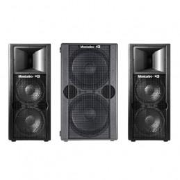 MONTARBO 2 X W22A + 1 X 215SA SISTEMA AUDIO 2500 WATTS RMS