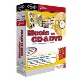 MAGIX MUSIC ON CD E DVD