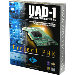 UNIVERSAL AUDIO UAD1 - PROJECT PACK