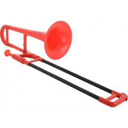 PBONE RED - TROMBONE IN PLASTICA
