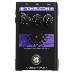 TC-HELICON VOICETONE X1 MEGAPHONE & DISTORTION