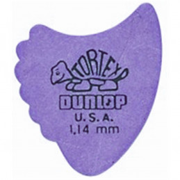 414R Tortex Fin Purple 1.14
