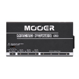MACRO POWER S8 - 8 PORTS ISOLATED POWER SUPPLY