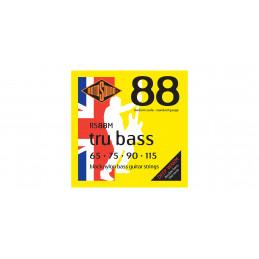 RS88M TRU BASS 88 MUTA BLACK NYLON FLATW. MEDIUM 65-115