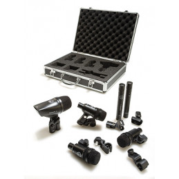 AKG GROOVE PACK MIC DRUMSET 6PZ CON VALIGIA