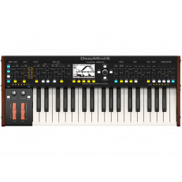 BEHRINGER DEEPMIND 6 ANALOG SYNTH,37 KEY,6 VOICE