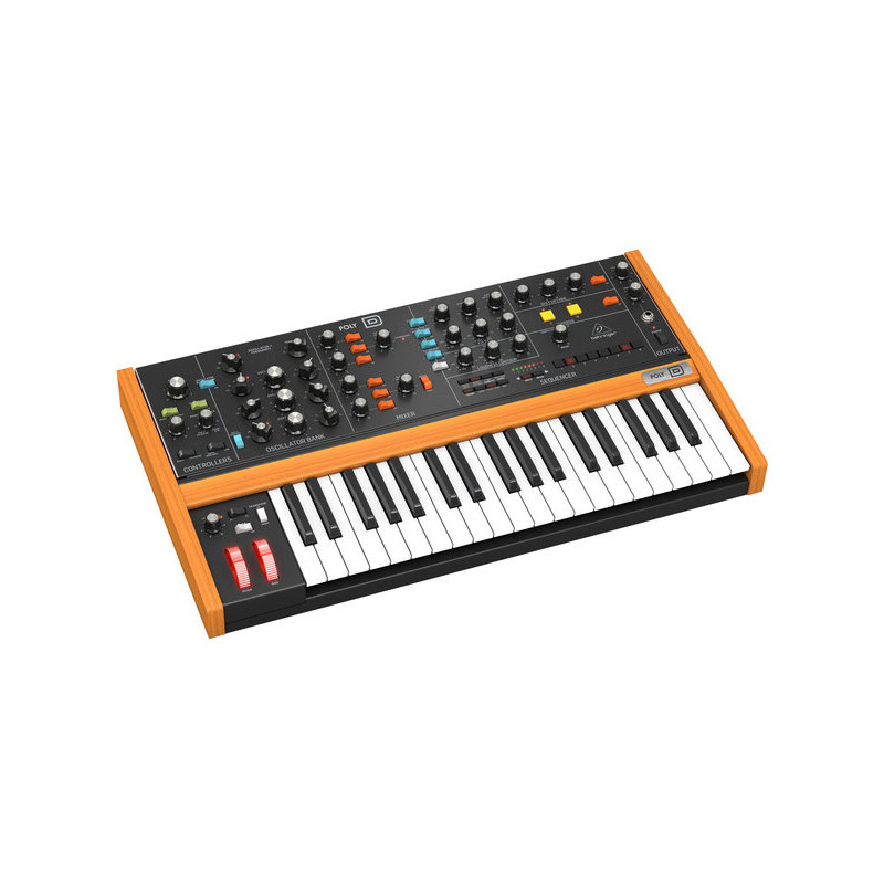 BEHRINGER POLY-D 4-VOICE POLIPHONIC ANALOG SYNTH