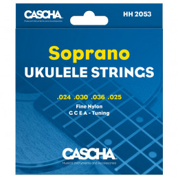 CASCHA HH2053 SOPRANO UKULELE STRINGS